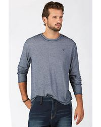 True Religion | Blue Military Mens Thermal for Men | Lyst