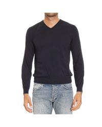 Z Zegna | Blue Ermenegildo Zegna Men's Sweater for Men | Lyst