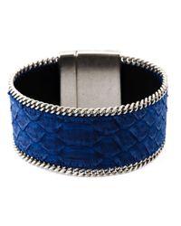 Aech Cheli | Blue 'gun' Bracelet | Lyst