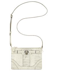Guess | Natural Greyson Petite Status Crossbody | Lyst