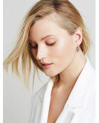 Free People | Metallic Tiger Mountain Womens Etched Swirl Earrings | Lyst