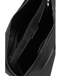 BOSS - Black 'sumei'   Calfskin Workbag With Detachable Shoulder Strap for Men - Lyst