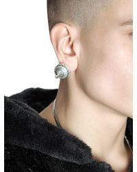 KTZ | Metallic Magnetic Spike Earrings | Lyst