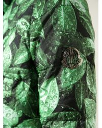 Moncler Gamme Rouge   Green Down Jacket   Lyst