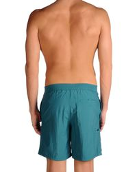 Armani - Blue Swimming Trunks for Men - Lyst