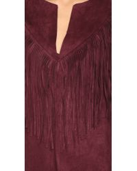 Raga - Purple Rule Breaker Fringe Mini Dress - Lyst