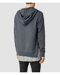 AllSaints | Gray Norths Hoody for Men | Lyst