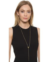 Phyllis + Rosie | Metallic Katherine Necklace - Gold | Lyst