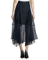 Marissa Webb - Blue Yasmin Carwash Skirt - Lyst