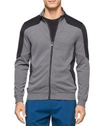 Calvin Klein | Metallic Two-tone Twill Jacket for Men | Lyst