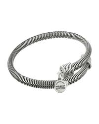 ALEX AND ANI | Metallic Drift Wrap Bracelet | Lyst