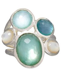 Ippolita | Green Blue Tahiti Five Stone Wonderland Ring | Lyst