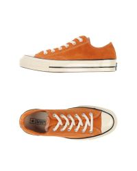 Converse - Brown Low-tops & Trainers for Men - Lyst