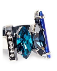 Iosselliani | Blue Decò Crystal Ring | Lyst