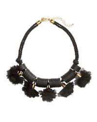 H&M - Black Short Necklace - Lyst