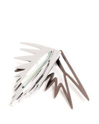 Eddie Borgo - Metallic Stone-embellished Spike Earrings - Lyst