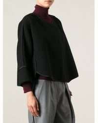 Chloé - Black Cropped Jacket - Lyst