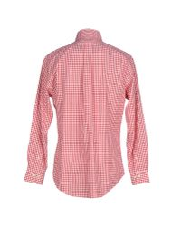 Brooks Brothers - Red Shirt for Men - Lyst
