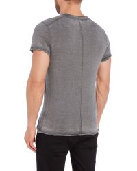 ELEVEN PARIS | Black Regular Fit Basic Crew Neck T Shirt for Men | Lyst