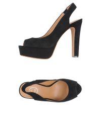 Ash   Black Sandals   Lyst