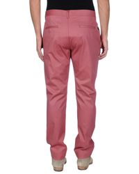 John Galliano - Pink Casual Trouser for Men - Lyst