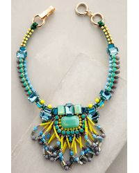 Anthropologie | Blue Kalahari Necklace | Lyst