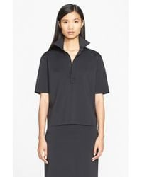 Helmut Lang - Blue Button Front Shirt - Lyst