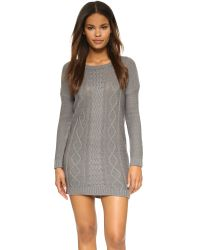 BB Dakota - Gray Jack By Scout Sweater Dress - Lyst
