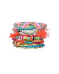 Hipanema - Multicolor Bracelet Rainbow - Lyst