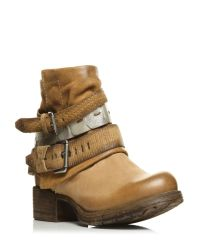Moda In Pelle | Brown Avino Low Casual Short Boots | Lyst