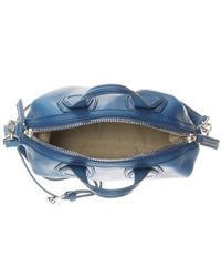 Givenchy - Blue Nightingale Micro Leather Shoulder Bag - Lyst