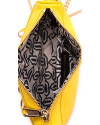 Rebecca Minkoff - Yellow Mini Mac Cross Body Bag Marigold - Lyst