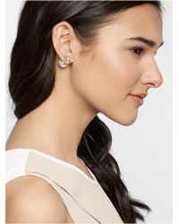 BaubleBar | White Gold Deco 360 Crawlers | Lyst