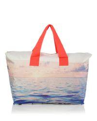 Samudra - Green Scenic Canvas Duffle Bag - Lyst