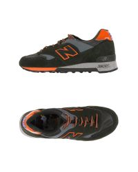 New Balance - Green Low-tops & Trainers for Men - Lyst