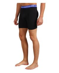 "Under Armour - Black Mesh 9"" Boxerjock® Boxer Brief for Men - Lyst"