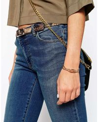 ASOS | Metallic Infinity Cuff Bracelet | Lyst