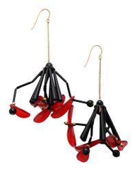 Marni - Red Earrings - Lyst