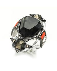 Alexis Bittar | Multicolor Cubist Patchwork Baguette Ring You Might Also Like | Lyst