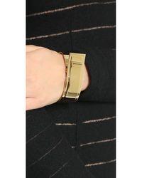 By Malene Birger - Metallic Harpa Bracelet - Gold - Lyst