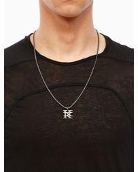 """KTZ - Metallic """"k"""" Logo Pendant for Men - Lyst"""