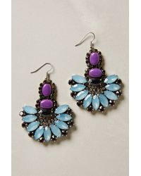 Anthropologie - Blue Rococo Candy Earrings - Lyst