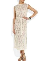 Zimmermann - White Prairie Lace Dress - Lyst