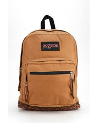 Jansport - Brown Right Pack Edge Backpack - Lyst