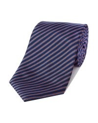 Paul Smith - Pink Stripe Tie for Men - Lyst