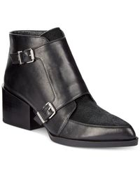 Circus by Sam Edelman | Black Reese Booties | Lyst