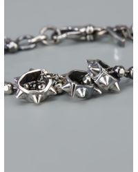 Emanuele Bicocchi | Metallic Studded Ball Bracelet | Lyst