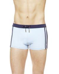 La Perla | Blue Square-leg Swim Shorts for Men | Lyst