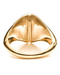 Alexis Bittar | Metallic Liquid Gold Sculptural Hinged Cuff You Might Also Like | Lyst