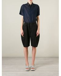 Societe Anonyme - Black Balloon Shorts - Lyst